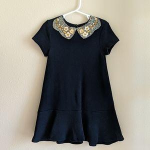 Zara - Girls Sequin Collar Dress
